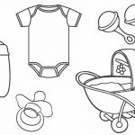 Coloring Pages : Babyhower Coloring Pages Awesome Picture   Free Printable Baby Shower Coloring Pages