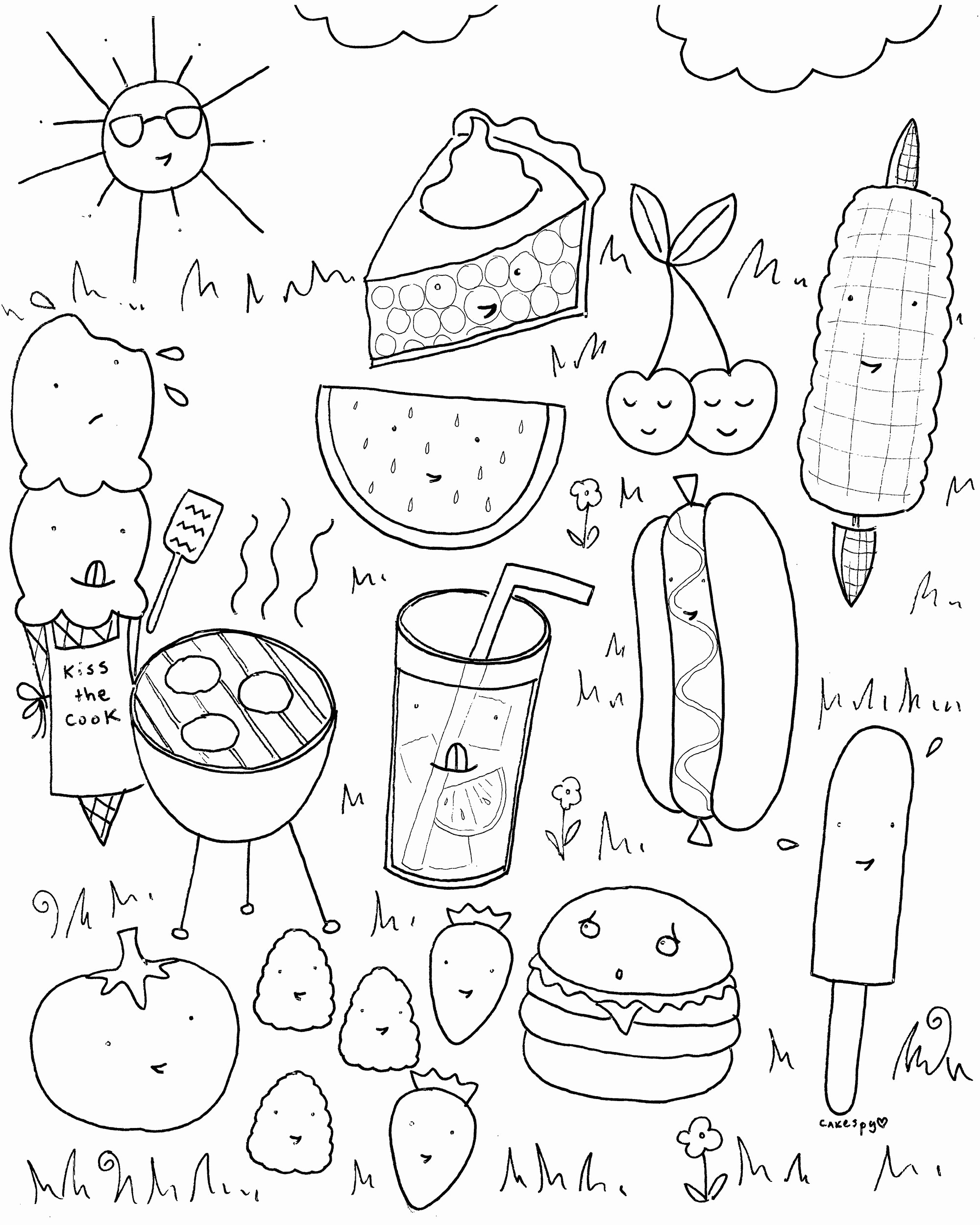 Coloring Pages To Print For Free Beautiful Beach Coloring Pages Nice - Free Printable Summer Coloring Pages