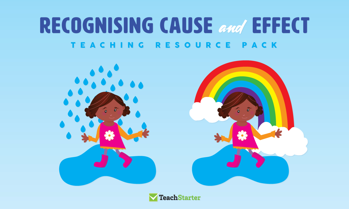 Comprehension Strategy Teaching Resource Pack - Recognising Cause - Free Printable Cause And Effect Picture Cards