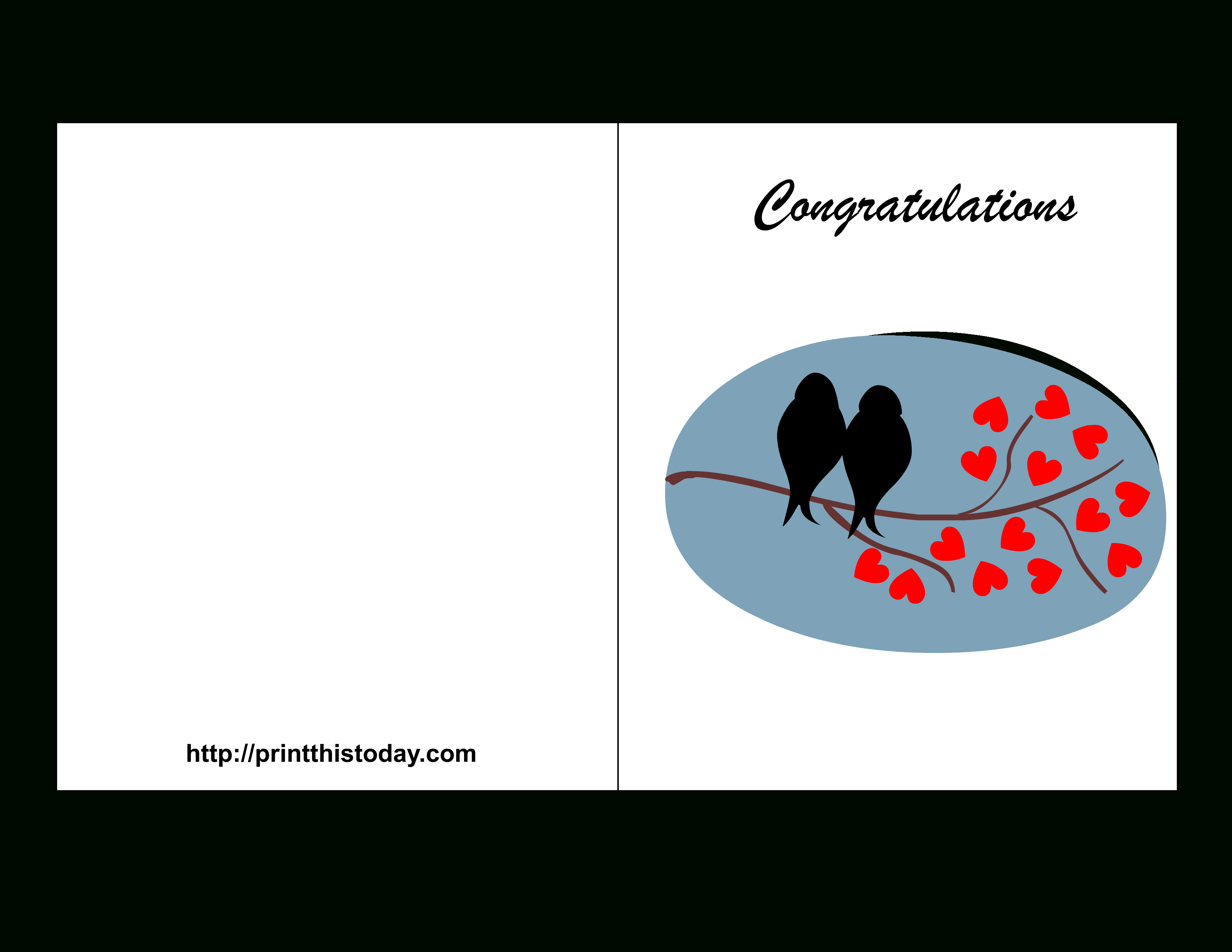 Congratulation Cards To Print - Demir.iso-Consulting.co - Wedding Wish Cards Printable Free