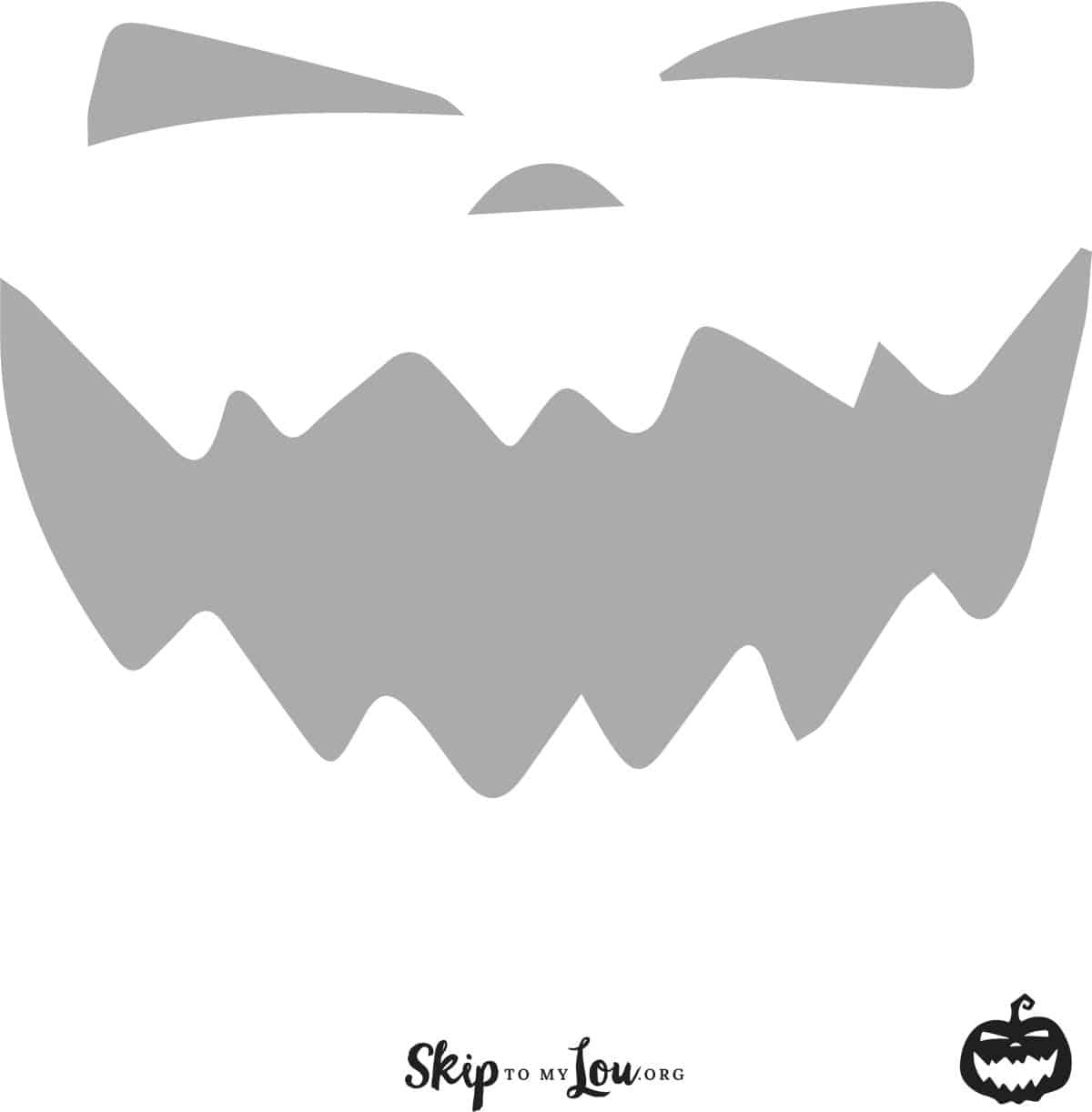 Cool Free Printable Pumpkin Carving Stencils - Skip To My Lou - Free Printable Pumpkin Faces