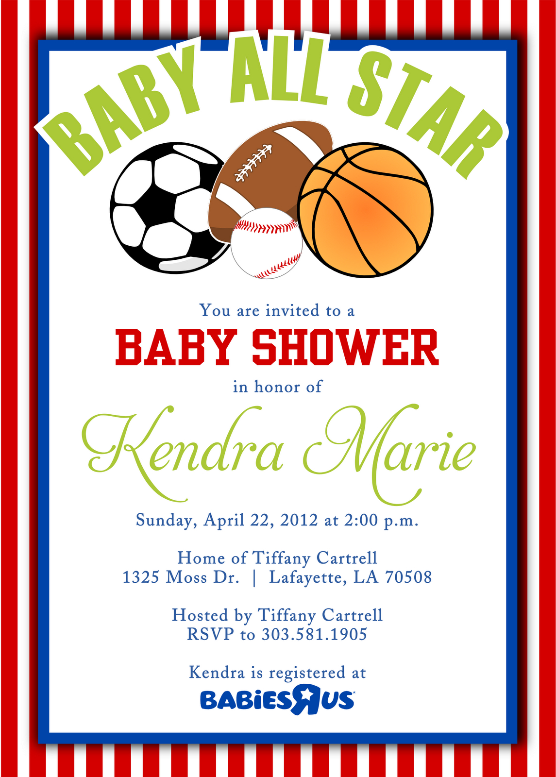 Cool Free Template Sport Themes Baby Shower Invitations | Bagvania - Free Printable Sports Birthday Invitation Templates