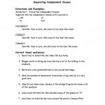 Correcting Run On Sentences Worksheet   Free Esl Printable   Free Printable Sentence Correction Worksheets