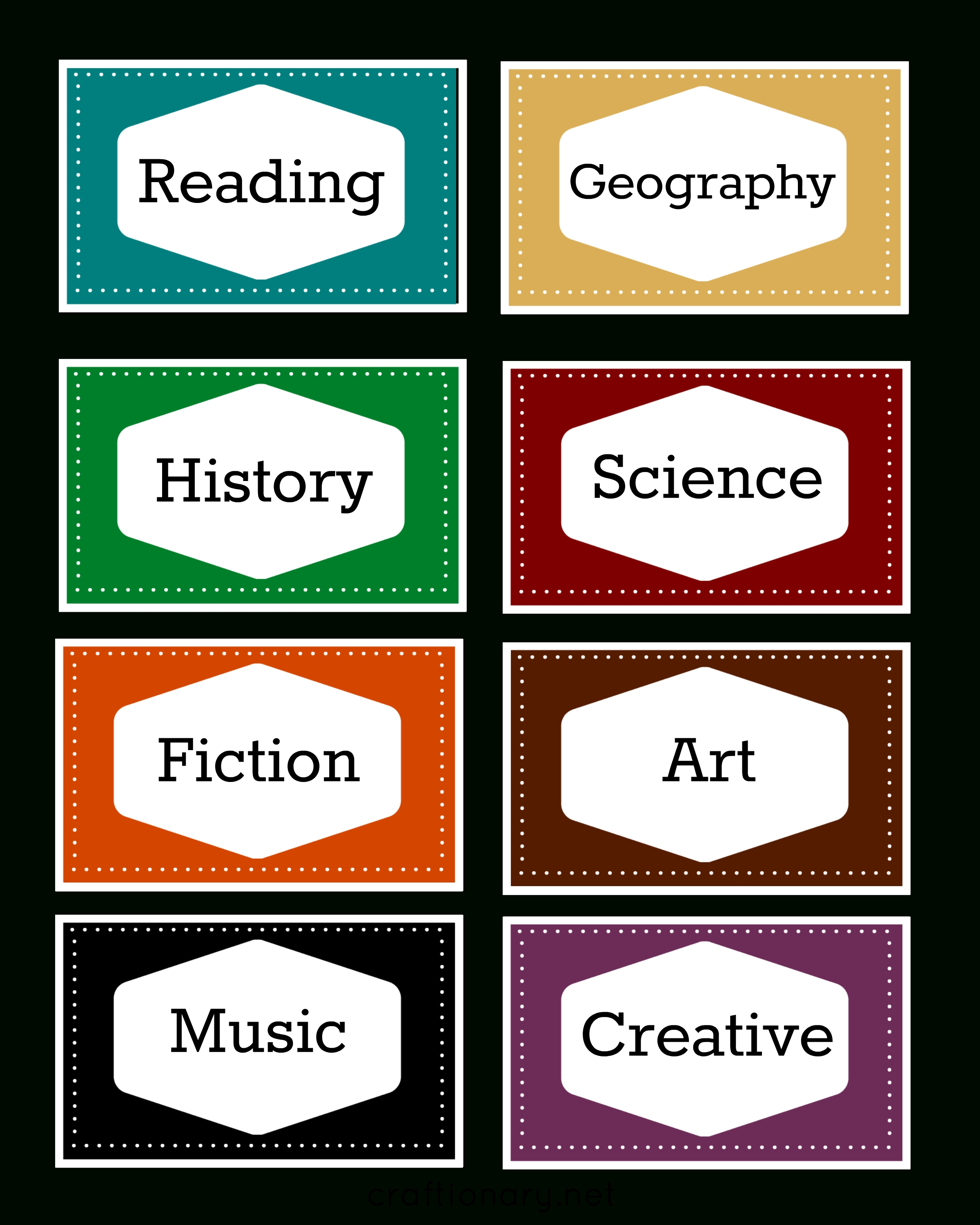 Craftionary Within Free Customizable Printable Labels - World Of Label - Free Customizable Printable Labels