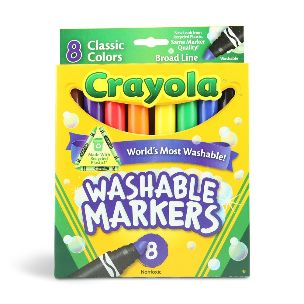 Crayola Marker Printable Coupon | Washable Markers As Low As $.95 - Free Printable Crayola Coupons