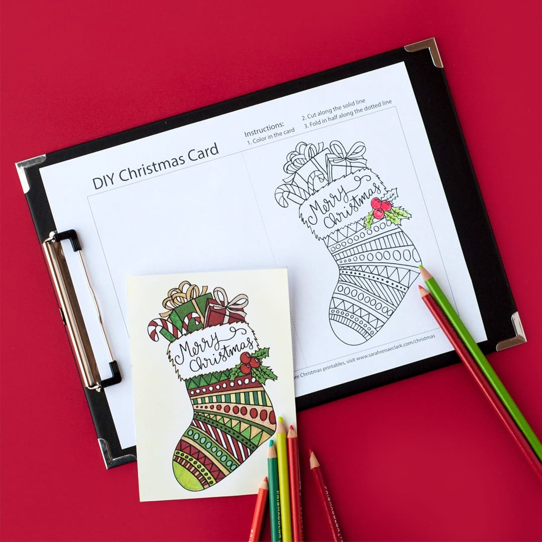 Create Your Own Christmas Cards Free Printable - Tutlin.psstech.co - Create Your Own Free Printable Christmas Cards