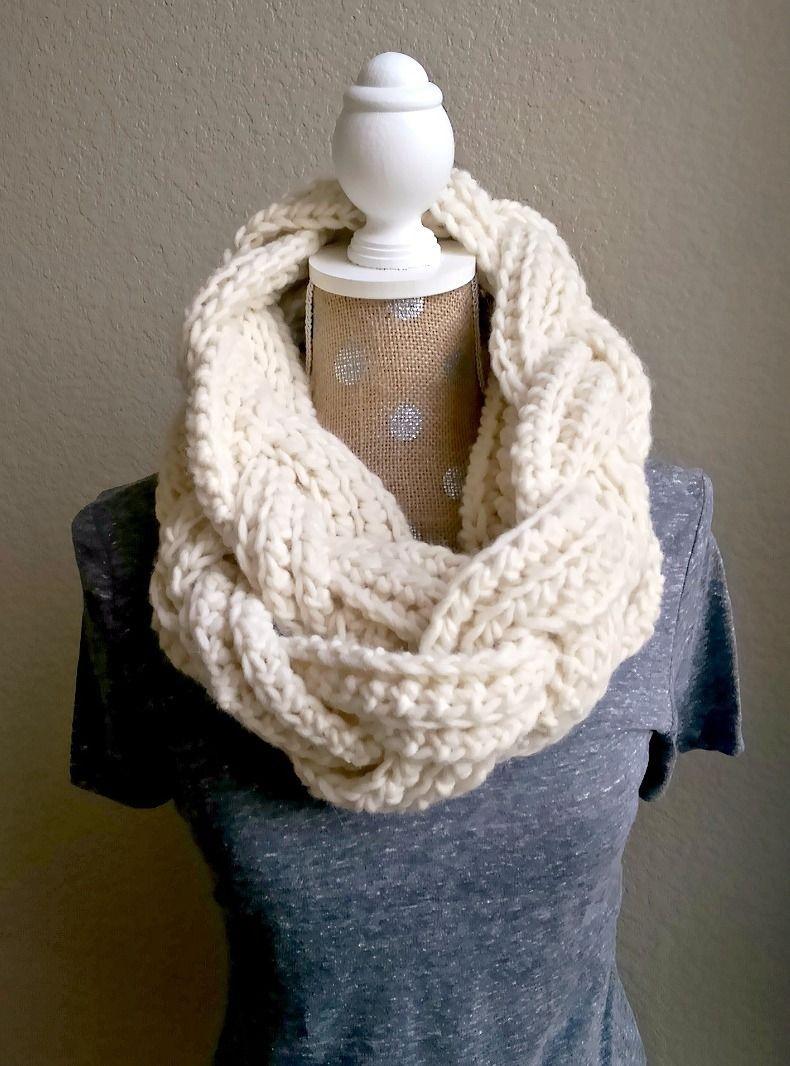 Crochet Braided Scarf Free Patterns   Make Grandma Proud   Crochet - Free Printable Crochet Scarf Patterns