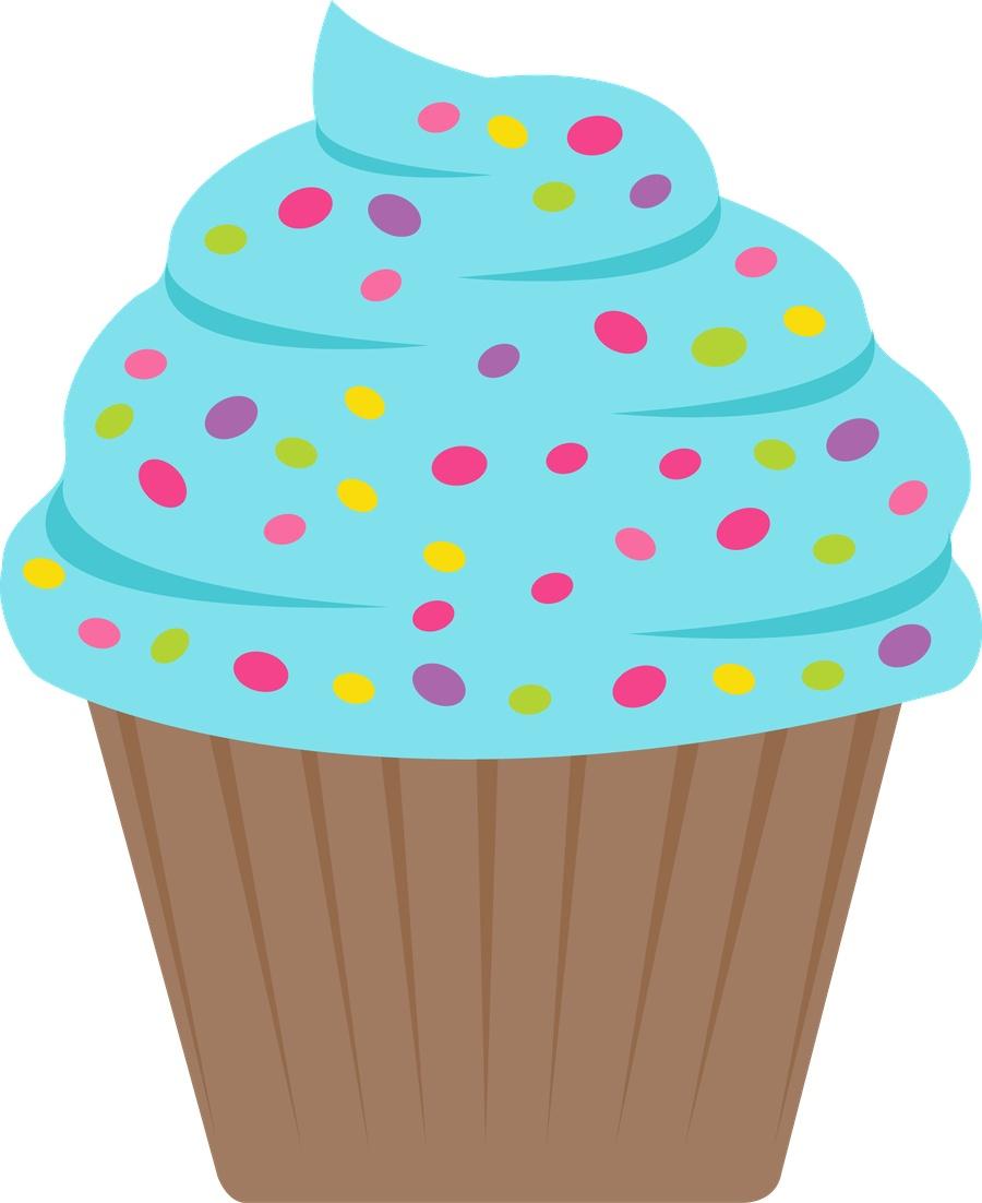 Cupcake Clip Art Printables – 101 Clip Art - Free Printable Cupcake Clipart