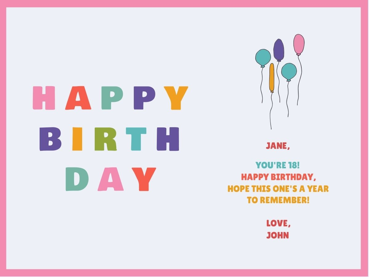 Customize Our Birthday Card Templates - Hundreds To Choose From - Create Greeting Cards Online Free Printable