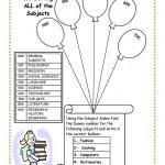 Cute, To Bad I Killed Dewey. Library Skills Worksheet. | Cool Ideas   Free Library Skills Printable Worksheets