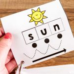 Cvc Cut & Paste Worksheets & Phonics Cards   Free Printable Blending Cards