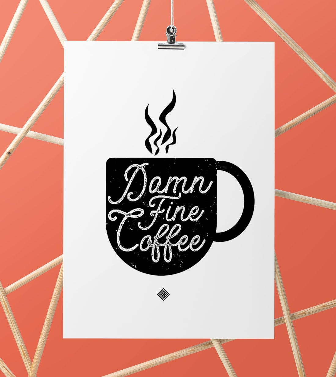 Damn Fine Coffee Free Printable • Little Gold Pixel - Free Coffee Printable Art
