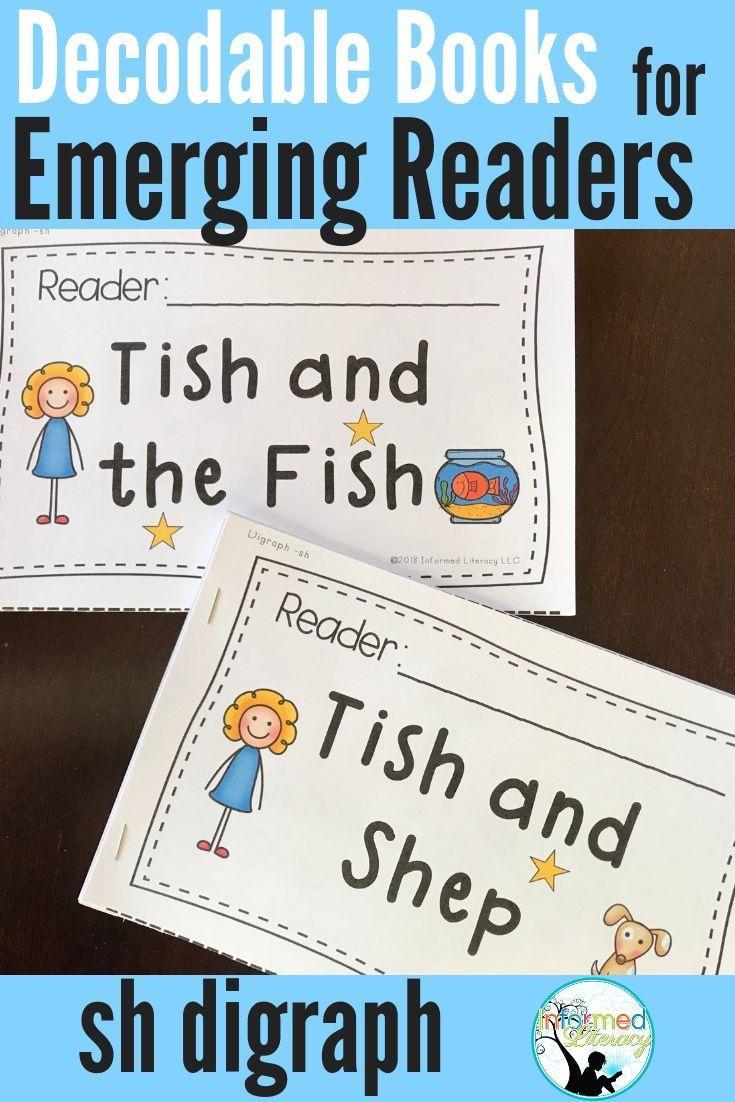 Decodable Reader Pack: Digraphs - Sh   Kindergarten Reading - Free Printable Decodable Books For Kindergarten