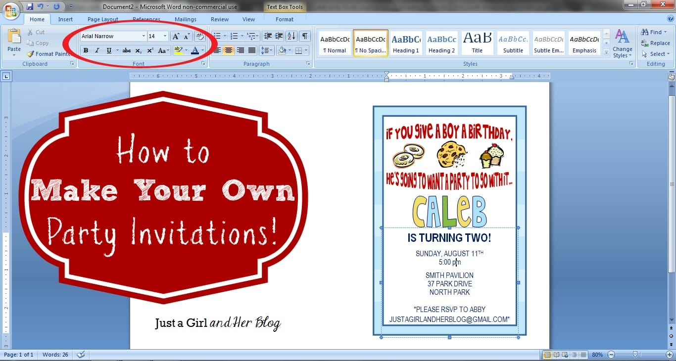 Design Own Party Invitations - Tutlin.psstech.co - Make Printable Party Invitations Online Free