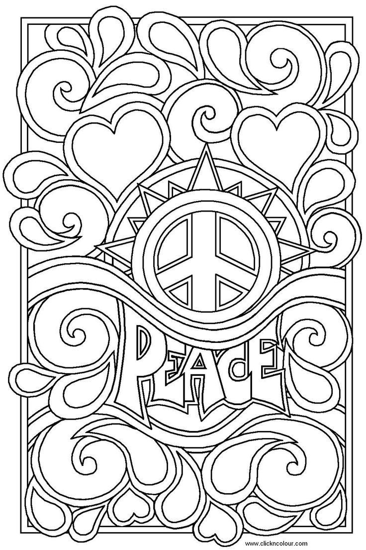 Detailed Coloring Pages | Sketches | Love Coloring Pages, Coloring - Free Printable Coloring Pages For Teens