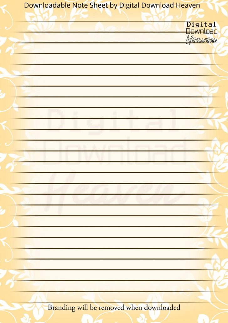 Free Printable Journal Pages Lined