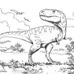 Dinosaur Coloring Pages To Print At Getdrawings | Free For   Free Printable Dinosaur Coloring Pages