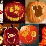 Disney Pumpkin Stencils: Over 130 Printable Pumpkin Patterns   Hard Pumpkin Carving Patterns Free Printable
