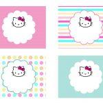 Diy Free Hello Kitty Label | Free Birthday Party Decorations | Hello   Hello Kitty Labels Printable Free