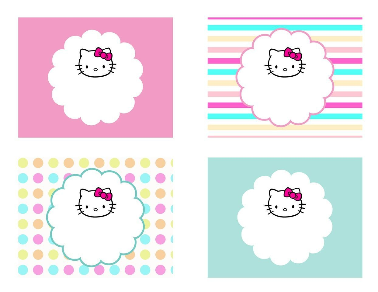 Diy Free Hello Kitty Label | Free Birthday Party Decorations | Hello - Hello Kitty Labels Printable Free