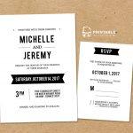 Diy Free Pdf Printable Wedding Invitation And Rsvp | Wedding   Free Printable Rsvp Cards