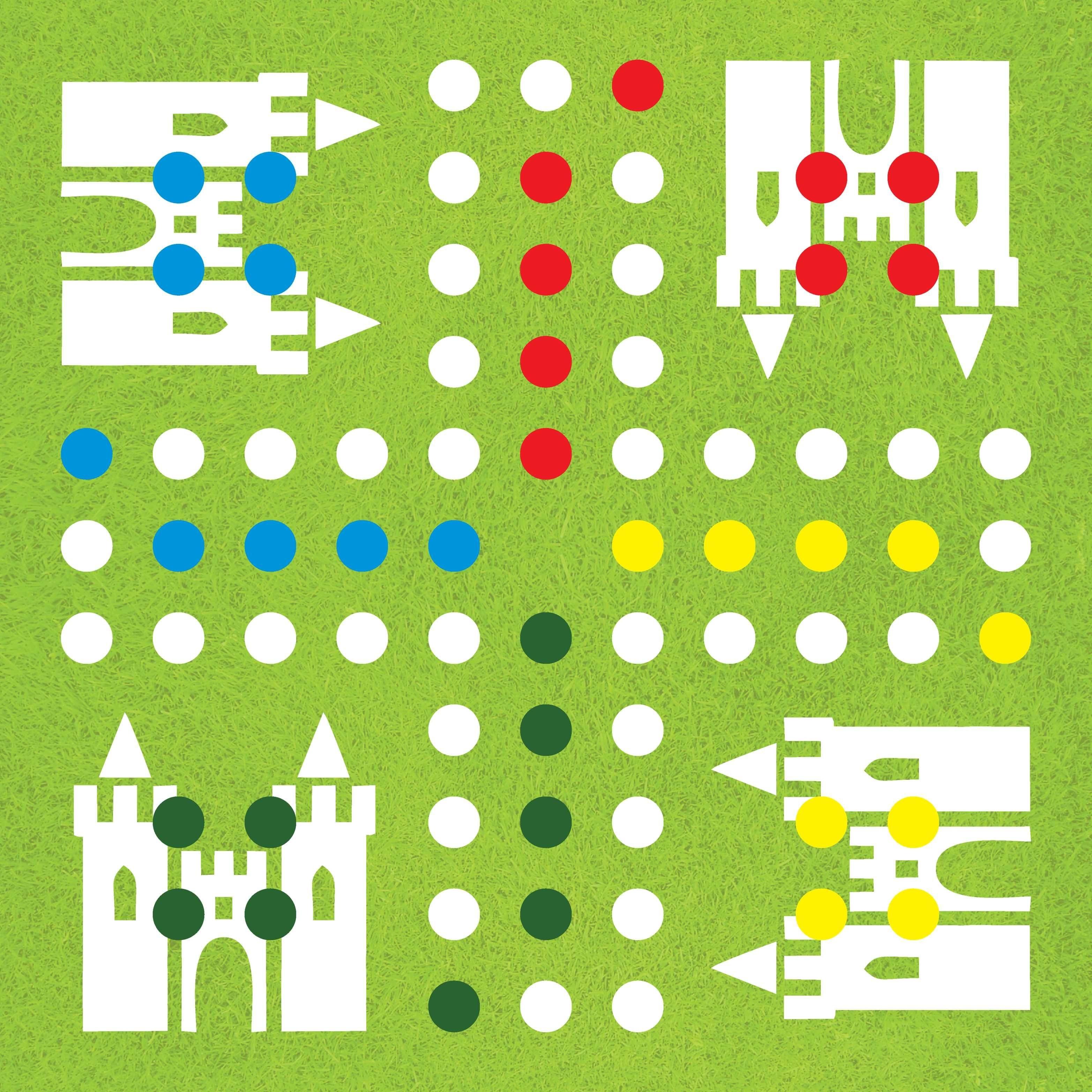 Diy-Ludo-Board-Game-Template - | Board Game | Társasjátékok, Játék - Free Printable Ludo Board