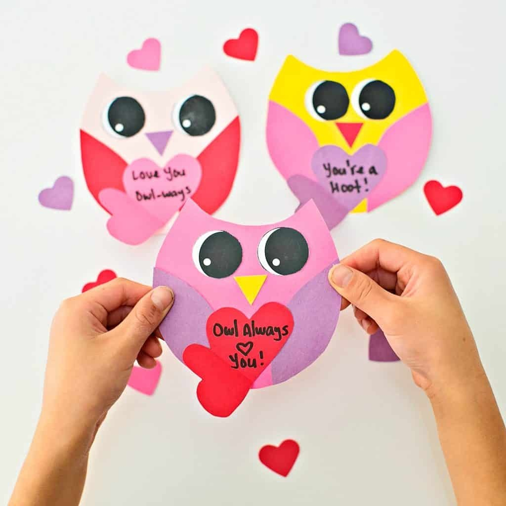 Diy Owl Valentine Card - Hello Wonderful - Free Printable Owl Valentine Cards