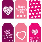 Diy Valentine's Day Gift: Mini Candy Boxes & Printable Gift Tags   Free Printable Valentine's Day Stencils
