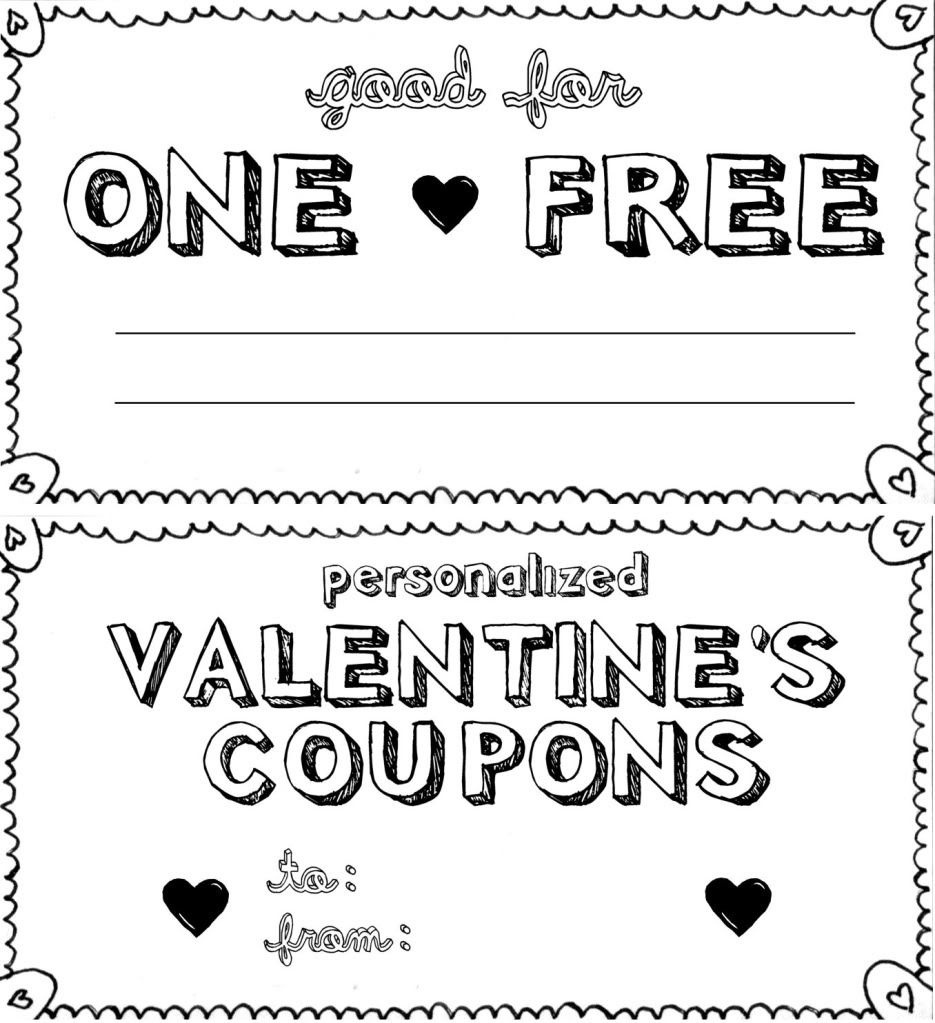 Diy Vouchers Template - Kaza.psstech.co - Free Printable Coupon Templates