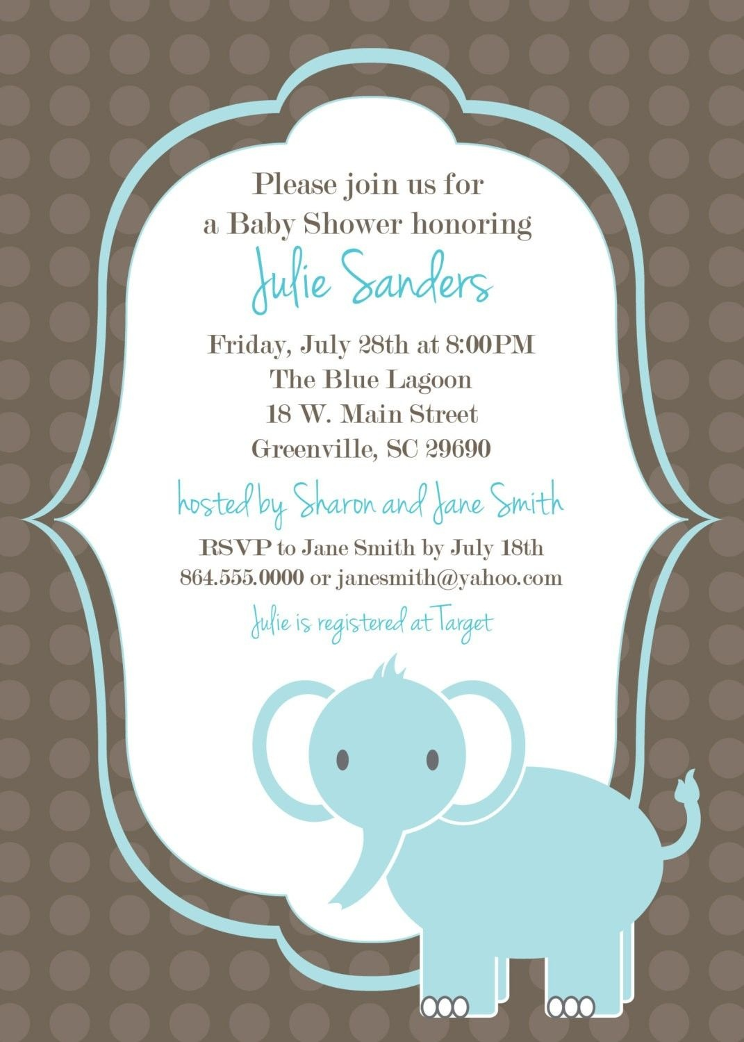 Download Free Template Got The Free Baby Shower Invitations - Create Your Own Baby Shower Invitations Free Printable