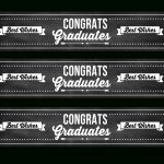 Download These Free Graduation Chalkboard Party Printables! | Catch   Free Printable Water Bottle Labels Graduation