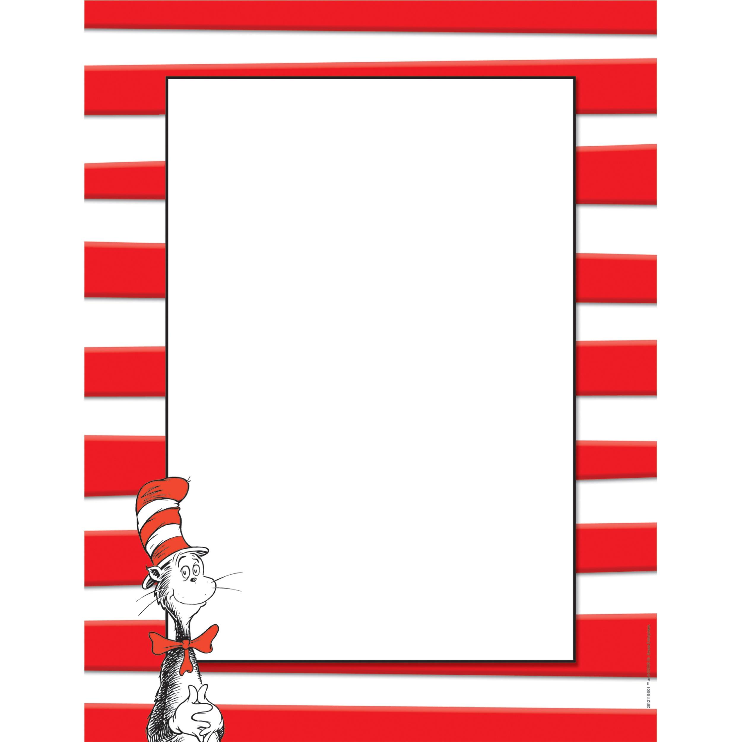 Dr Seuss Page Border   Free Download Best Dr Seuss Page Border On - Dr Seuss Free Printable Templates