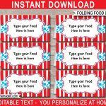 Dr Seuss Party Food Labels | Place Cards | Dr Seuss Theme Party   Dr Seuss Free Printable Templates