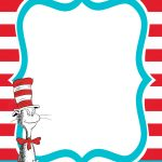 Dr Seuss Printable Invite | Dr. Seuss | Pinterest | El Gato   Dr Seuss Free Printable Templates