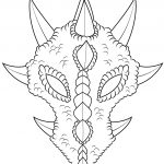 Dragon Mask Coloring Page | Free Printable Coloring Pages   Dragon Mask Printable Free