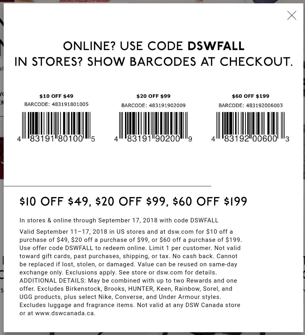 Dsw Printable Coupon - Printable Coupons 2019 - Free Printable - Free Printable Coupons For Dsw Shoes