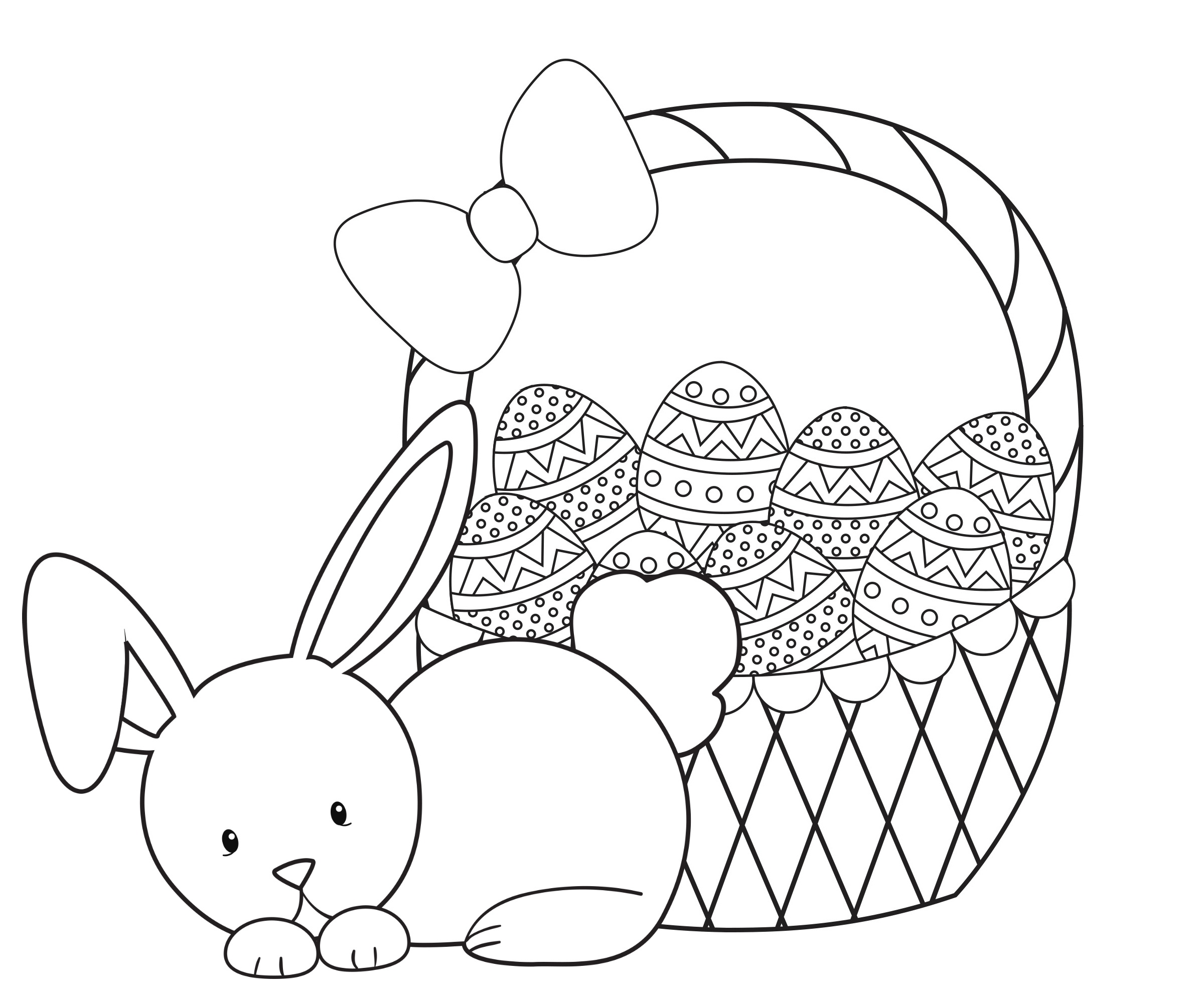 Easter Coloring Pages For Kids - Crazy Little Projects - Free Printable Easter Pages