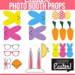 Easter Photo Booth Props From Capturing Joy With Kristen Duke   Free Printable Photo Booth Props Template