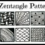 Easy  20 Zentangle Patterns For Beginners   Youtube   Free Printable Zentangle Templates