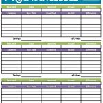 Easy Printable Budget Worksheet | Get Paid Weekly And Charlie Gets   Free Printable Budget Worksheets