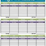 Easy Printable Budget Worksheet   Get Paid Weekly And Charlie Gets   Free Printable Budget Worksheets