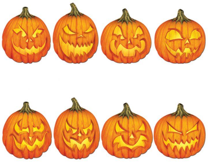 Free Printable Scary Pumpkin Patterns