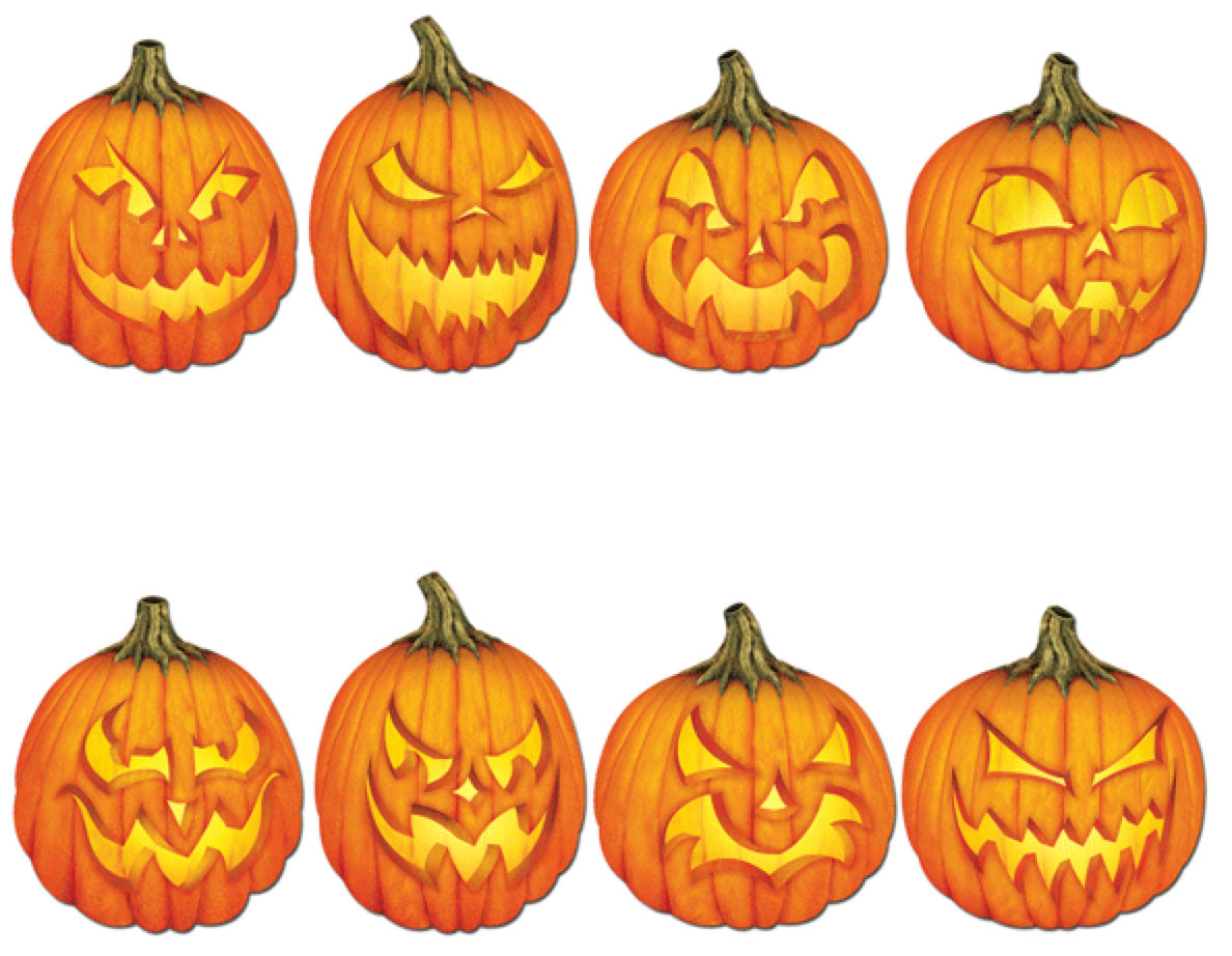 Easy Spooky Jack O'lantern Patterns | Haunted Halloween | Pumpkin - Free Printable Scary Pumpkin Patterns