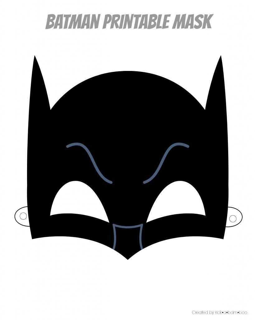 Easy Superhero Mask Template (Free!!)   Superhero Therapy   Batman - Superman Mask Printable Free