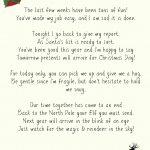 Elf On A Shelf Goodbye Letter Printable   Elf On The Shelf Goodbye Letter Free Printable