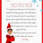 Elf On The Shelf Letter {Free Printable} | Christmas | Elf On The   Elf On The Shelf Goodbye Letter Free Printable