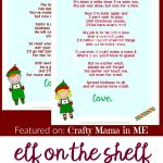 Elf On The Shelf Letters {Free Printables}   Crafty Mama In Me!   Free Printable Elf On The Shelf Story