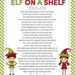 Elf On The Shelf Story   Free Printable Poem   Lil' Luna   Free Printable Elf On The Shelf Story