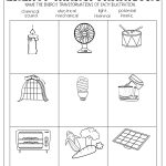 Energy Transformations Worksheet | Subject Teaching | Energy   Free Printable Worksheets On Potential And Kinetic Energy