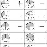 Equivalent Fractions Worksheet / Free Printable Worksheets   Free Printable Blank Fraction Circles